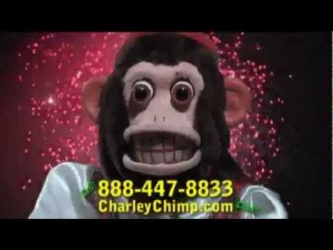 Old Charley Chimp the cymbal banging monkey commercial.