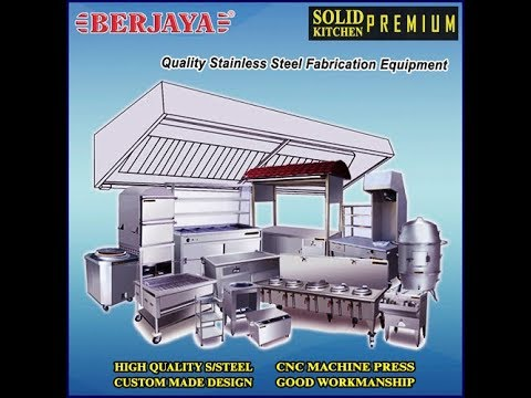 Commercial Stainless Steel Equipment By SOLID KITCHEN