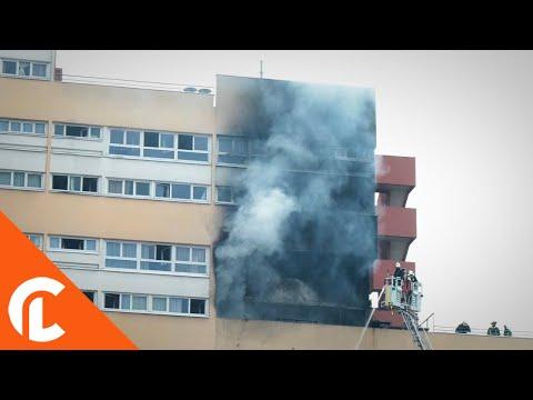 Important incendie d'habitation (18 novembre 2017, Aubervilliers, France)
