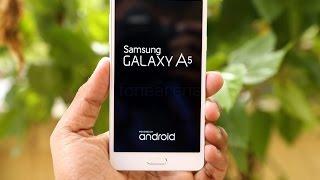 Обзор Samsung galaxy А5 на русском