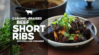 Caramel-braised Beef Short Ribs | Recipe | Easy Asian Home Cooking