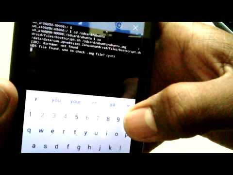 how to install ubuntu on android phone