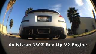 видео Nissan 350Z с компонентами от Motordyne