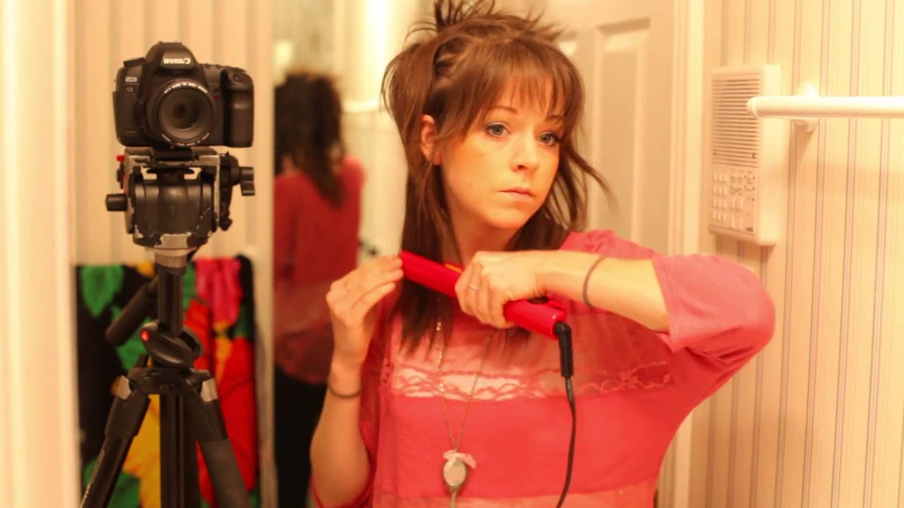 hair tutorial-lindsey stirling