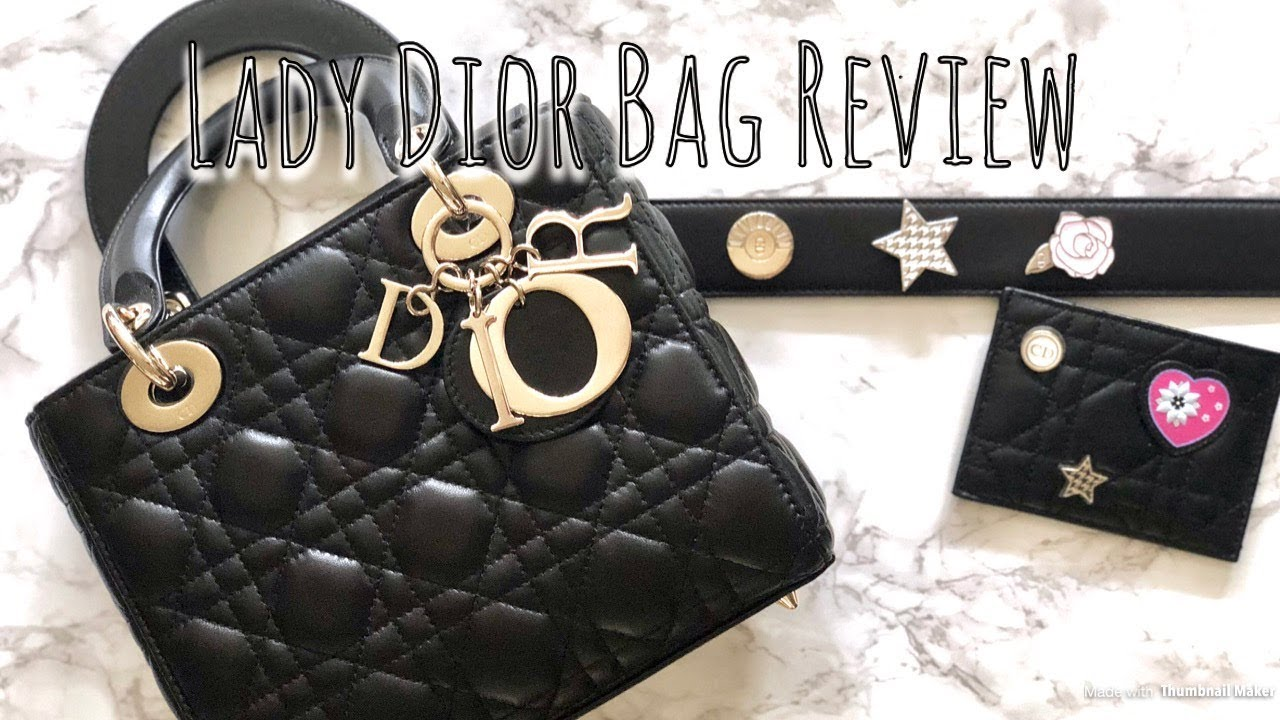 Lady Dior Bag Review - YouTube 567a138541
