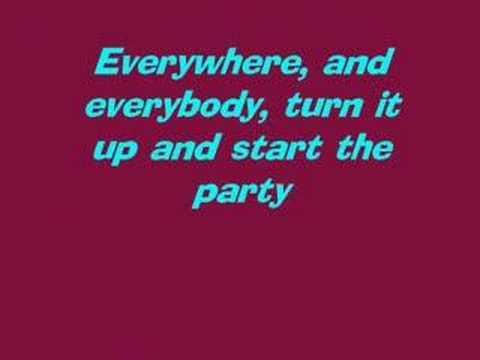Camp Rock- Start The Party- Lyrics