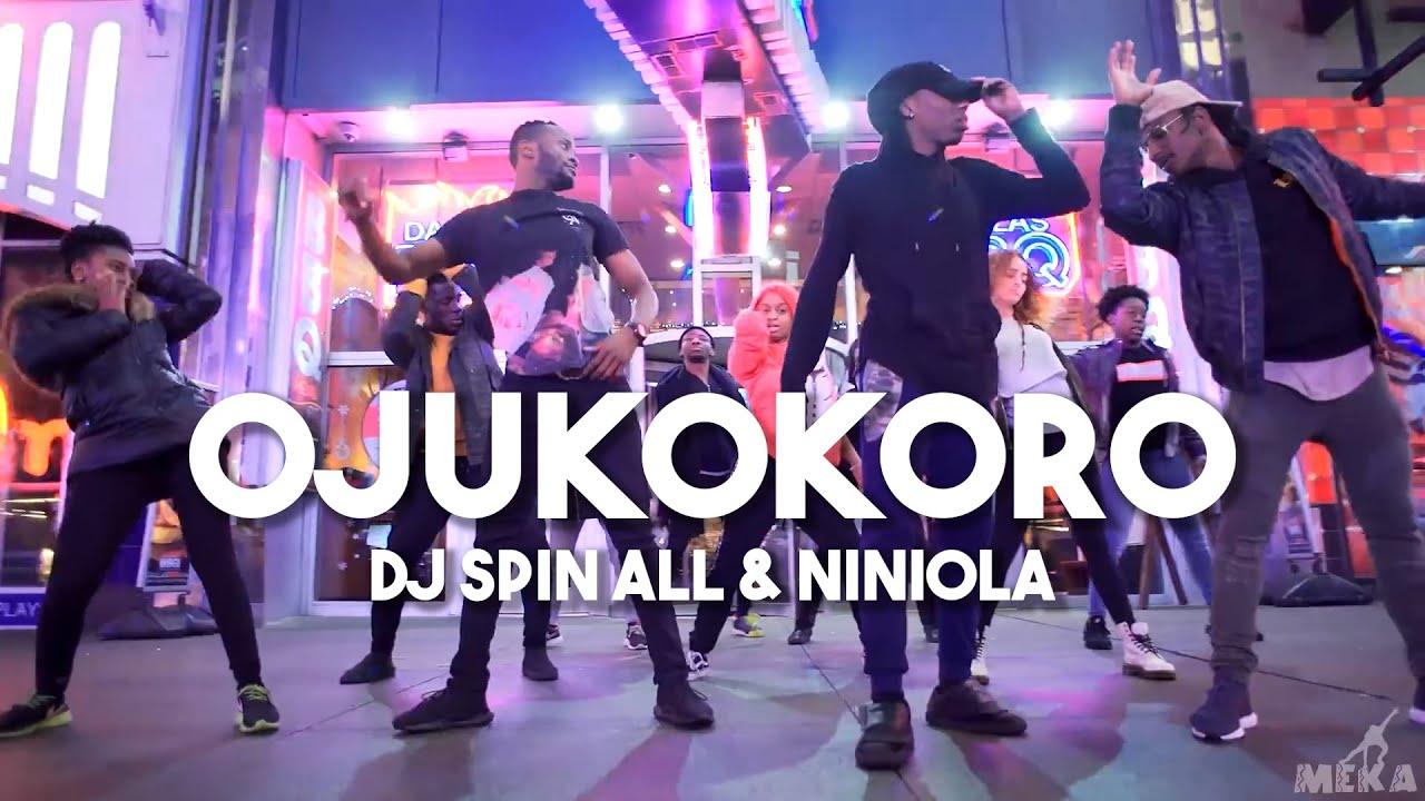 Download DJ Spinall ft. Niniola - Ojukokoro (Official Video) | Meka Oku Afro Dance Choreography