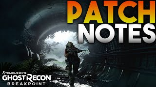 Ghost Recon Breakpoint - Title Update 1.1.0 Patch Notes! Terminator, Raid Nerfs, Bug Fixes, & MORE!
