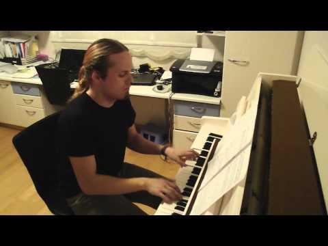 Stratovarius - Against the Wind piano version [HD]