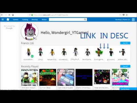 FOLLOW4FOLLOW] HOW TO GET FREE FOLLOWERS ON ROBLOX *2018* - YouTube