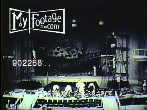 Stock Footage - MGM Studio Tour 1925 Pt. 4