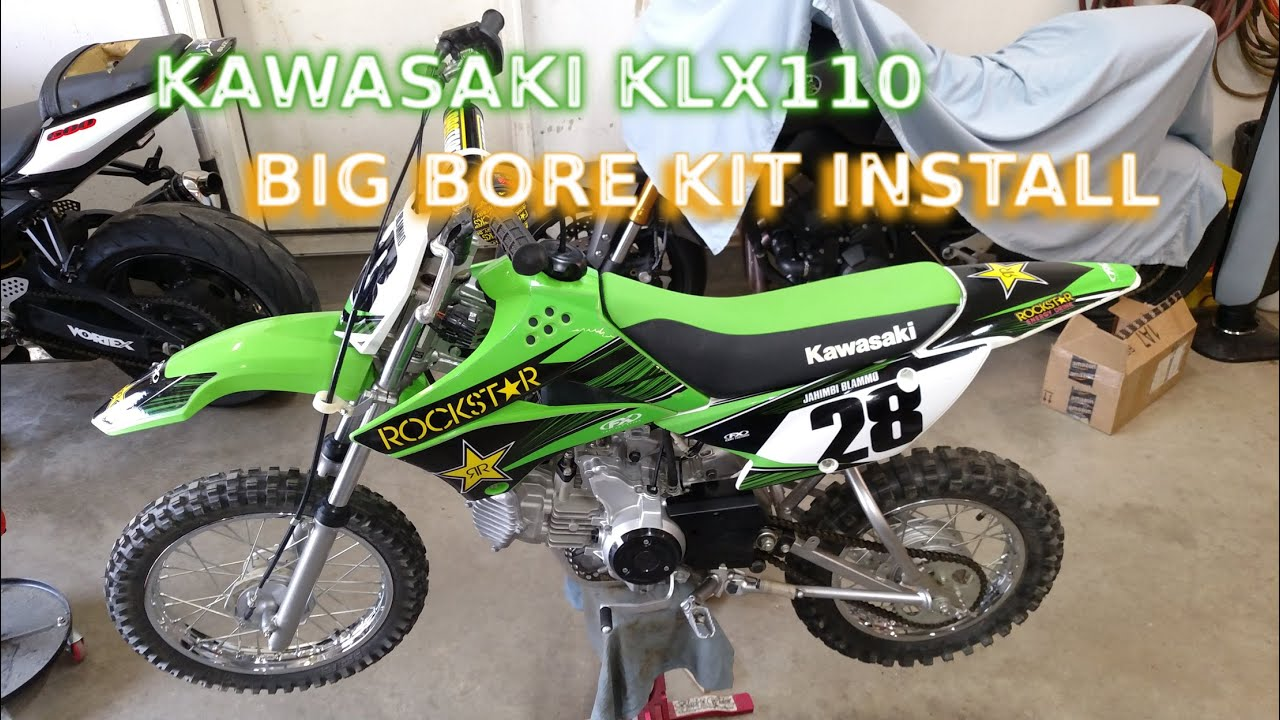 How To Install Big Bore Kit KLX110 - Part 1