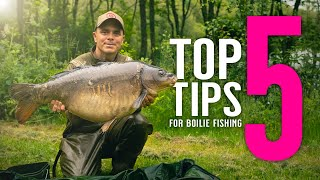 TOP 5 TIPS FOR BOILIE FISHING! Carp fishing bait tips with Adam Reed! Mainline Baits Carp Fishing TV