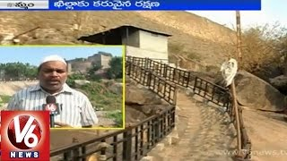Land grabbers occupy land of ancient fort with negligence of officials - Khammam