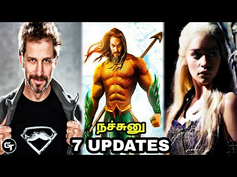 Today's 7 Updates | Snyder Cut | GOT Series | Saw Reboot Movie In Tamil