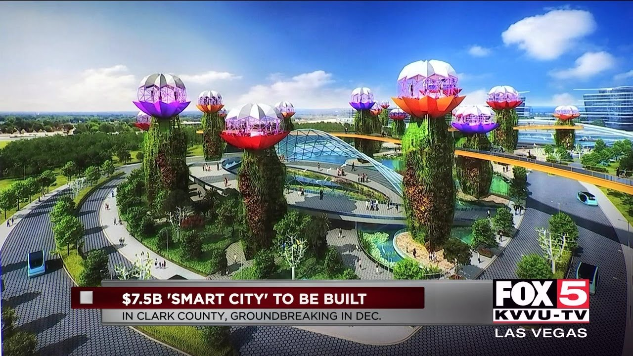 Mini Las Vegas >> Details Released Of Futuristic Mini City In Clark County