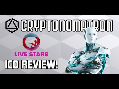 LIVE STARS ICO Review! Live Broadcast Webcam Adult Entertainment Platform! LIVE