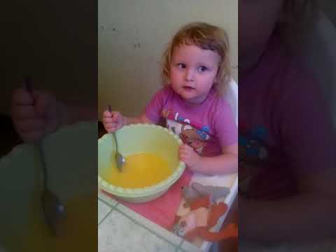 младший поваренок в семье