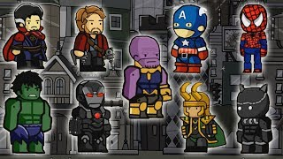 MARVEL INFINITY WAR CHARACTERS | Scribblenauts Unlimited Gameplay