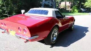 1968 Chevrolet Corvette Roadster For Sale~350~4 Speed~Fantastic Driver!