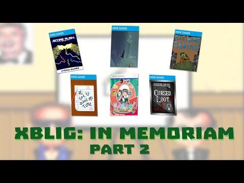 Xbox Live Indie Games: In Memoriam (Part 2/2)