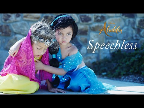 Naomi Scott's SPEECHLESS From Aladdin - Disney Cover Kids Music Video By 6 Year Old Le Gianna - YR