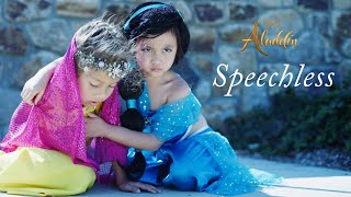 Download lagu Naomi Scott s SPEECHLESS from Aladdin Disney Cover Kids Music by 6 Year Old Le Gianna YR