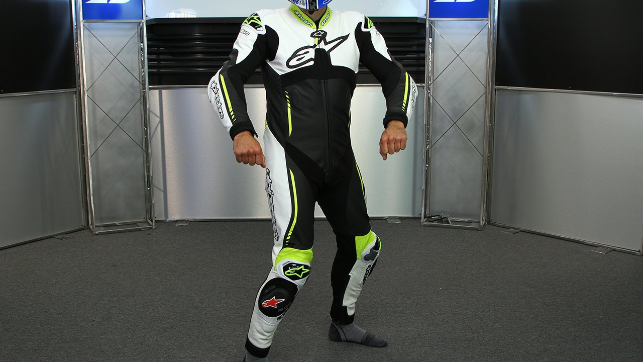 a073605cda8 Alpinestars Atem One Piece Leather Suit | Motorcycle Superstore - YouTube
