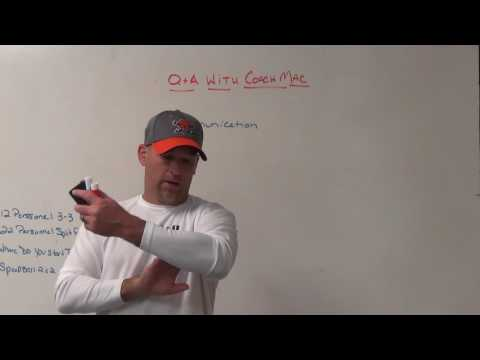 Q and A With Coach Mac