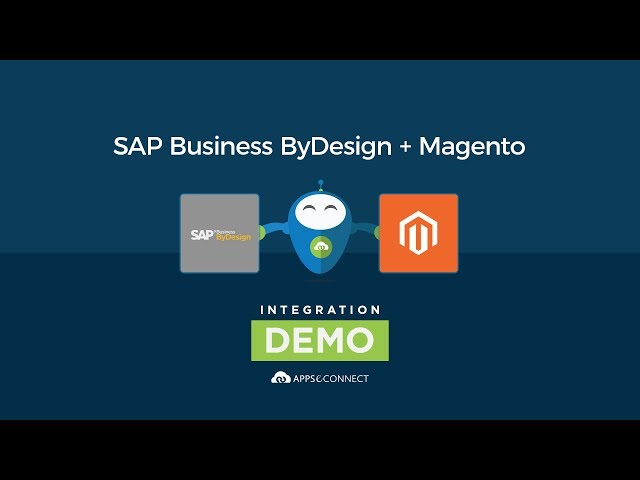 SAP ByDesign and Magento Integration | APPSeCONNECT