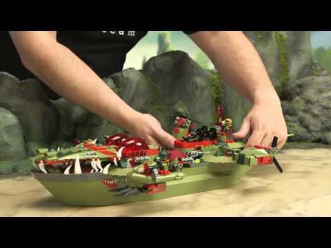 Конструктор LEGO Legends Of Chima - Флагманский корабль 70006