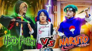 Sasuke from Naruto vs. Harry Potter! Who will Marinette choose? life hacks for a date