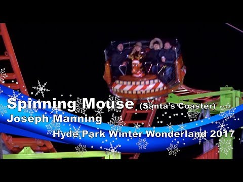 Spinning Mouse Santas Coaster  Joseph Manning @ Hyde Park Winter Wonderland 2017