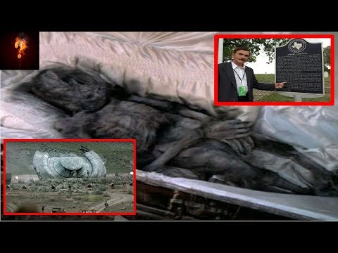 UFO Crash Texas Alien Found Buried In Cemetery?