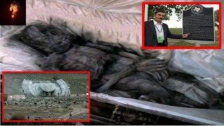 UFO Crash Texas Alien Found Buried In Cemetery?