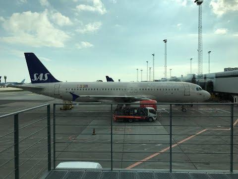 SAS SCANDINAVIAN AIRLINES From COPENHAGEN To PARIS CDG In SASPLUS (APR 2017)