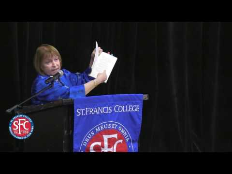 Poet Barbara Crooker @ St.Franics College