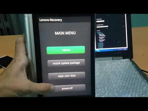 How To Boot Into Droidboot Lenovo Yoga Tablet 2