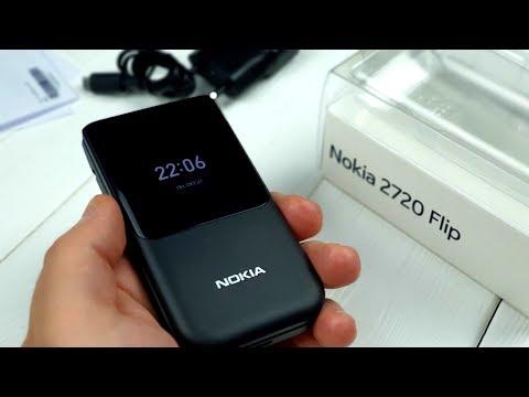 Nokia 2720 Flip: возвращение «легендарной» раскладушки!