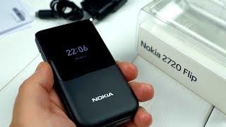 Nokia 2720 Flip возвращение «легендарной» раскладушки