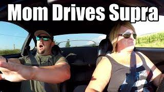 Mom Drives Single Turbo Toyota Supra