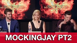 THE HUNGER GAMES Mockingjay Part 2 Cast Interviews