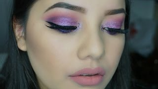 Purple Makeup Tutorial using Mi Vida Loca Remix Palette
