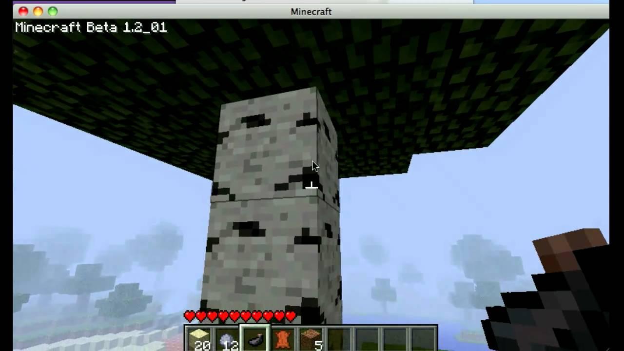 Minecraft birch wood youtube