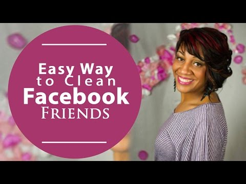 Easy Way To Clean Facebook Friends