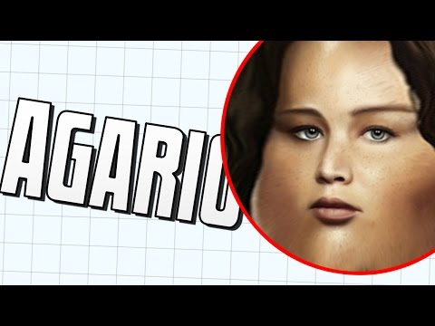 I AM THE VICTOR - Agario Hunger Games (Agar.io)