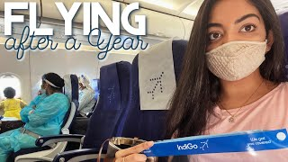 Flying After A Year | Ahaana Krishna | Travel Vlog ✈️