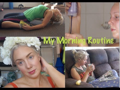 My Morning Routine- Oil Pulling, Fitness, Makeup & Beauty Products! CRUELTY FREE!
