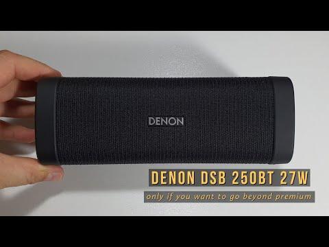 Review + Unboxing DENON DSB250BT 27W Hi Fi | in-depth details