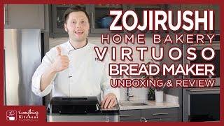 Zojirushi Bread Maker - Virtuoso Bread Machine Unboxing & Test